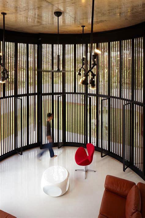 flexible revolving doors transform room  indoor