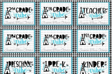 Svgcuts.com blog free svg files for cricut design space, sure cuts a lot and silhouette studio designer edition. Free School Tribe Svg Bundle Teacher Tribe Svg First Day ...