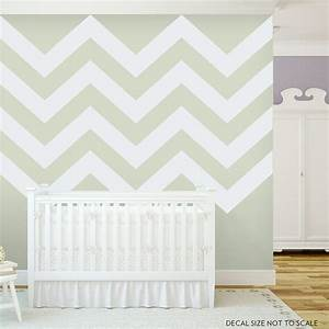chevron stripes 2 vinyl wall decal sticker With chevron wall decal