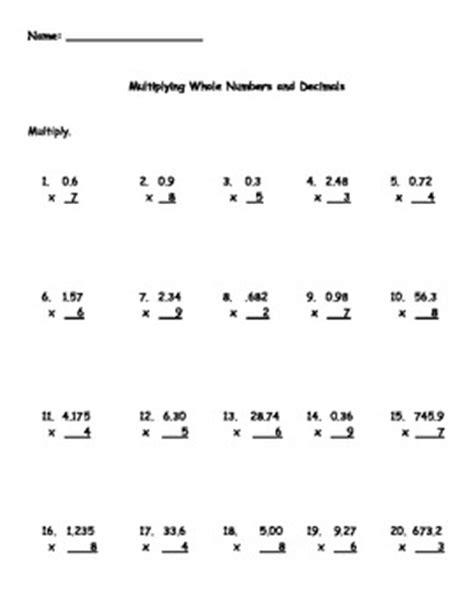 multiplying decimals and wh by kris milliken teachers