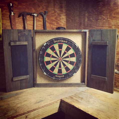 dart board cabinet only share