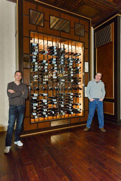 custom wine cellar    york athletic club