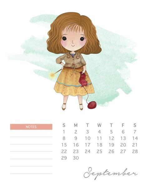 printable  harry potter calendar harry