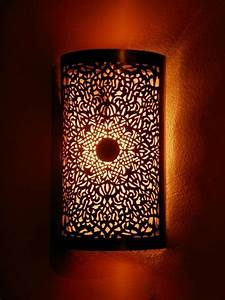MEDINA TOUCH : Moroccan Interior Moroccan lamps, wall