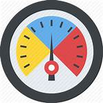 Icon Velocimeter Speedometer Odometer Meter Gauge Rating