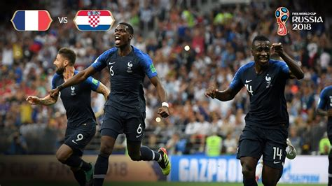 France Goal Croatia Fifa World Cup Final Youtube