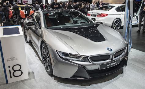 Update Motor Show 2018 : 【北米国際オートショー2018】bmw、モーターとバッテリーが強化された改良型「i8 クーペ」を公開