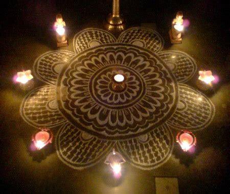 great south indian rangoli designs