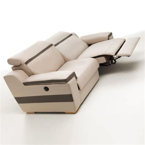 dimensions canap canap relax 3 places motoris canaps relaxation