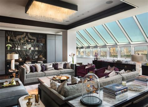 dreamy penthouse interiors
