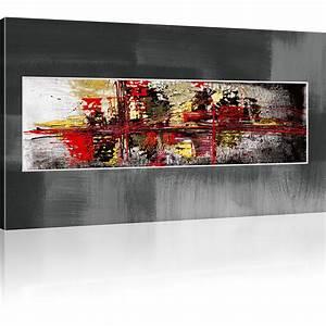 Reproduction Tableau Sur Toile : photo abstrait chaos tableau sur toile reproduction ~ Dailycaller-alerts.com Idées de Décoration