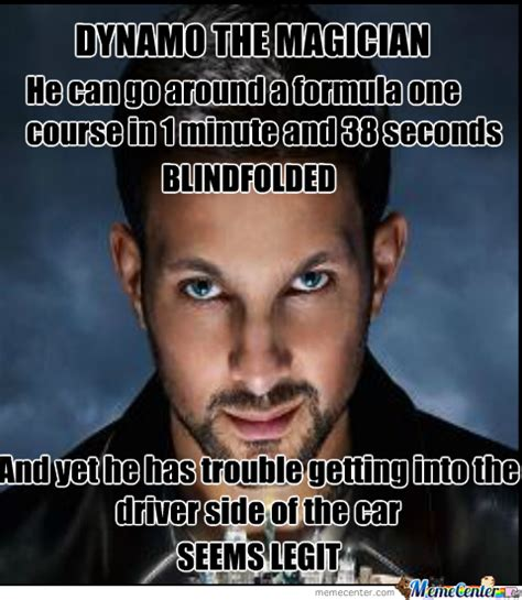 Magician Meme - dynamo the magician by ryanmcglum meme center