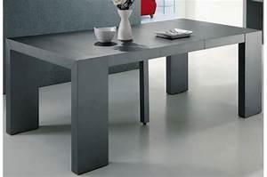 Table Extensible Grise : table console gigogne ~ Teatrodelosmanantiales.com Idées de Décoration