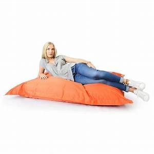 Pouf Geant Interieur : pouf g ant int rieur ext rieur orange 70 ~ Preciouscoupons.com Idées de Décoration
