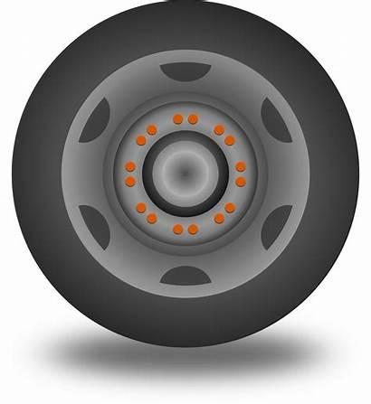 Wheel Clipart Cartoon Clip Tyre Wheels Vector