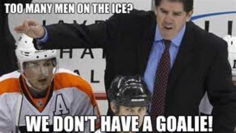 Funny Hockey Memes - funny hockey meme making fun of flyers goaltender ilya
