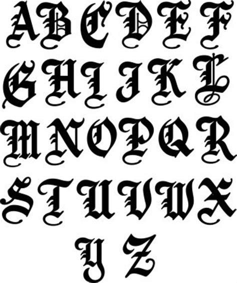 english single metal letter  sign