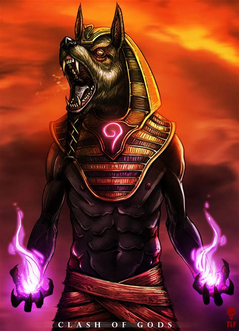 Anubis Clash Of Gods By The Last Phantom On Deviantart