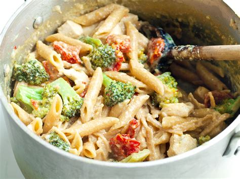 Tangy One Pot Chicken And Veggie Pasta Dinner Healthy