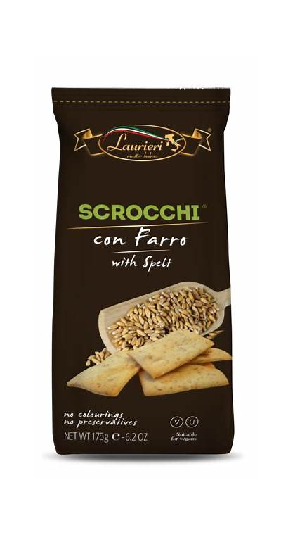 Crackers Scrocchi Spelt Farro Connect Brands Vendor