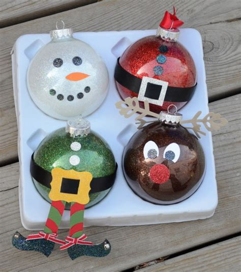 More Diy Christmas Ornament Ideas 01