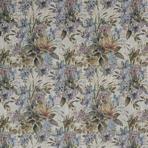 Tapestry Material Upholstery by J120 Blue Purple And Green Floral Tapestry Upholstery