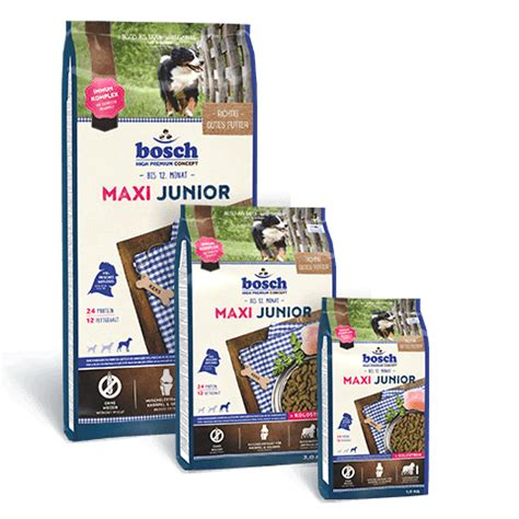 bosch maxi junior 15 kg hrana bosch maxi junior este special conceputa pentru