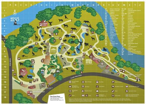 zoo map zoos examples visit