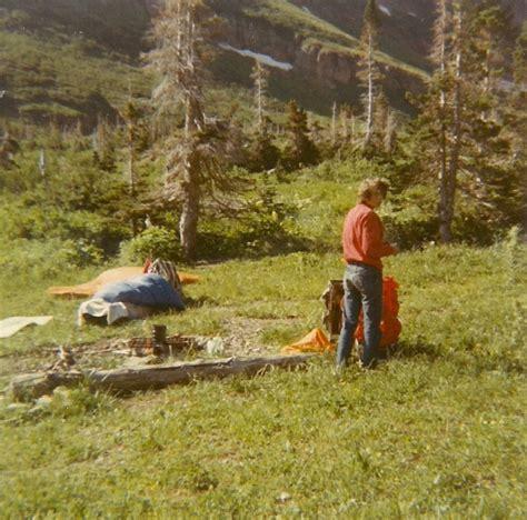 piegan to granite park glacier national park in s