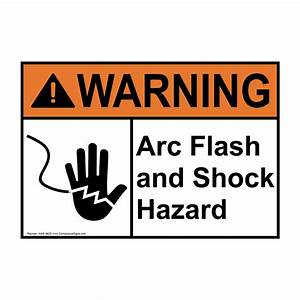 electrical safety signs and labels arc flash With arc flash sign