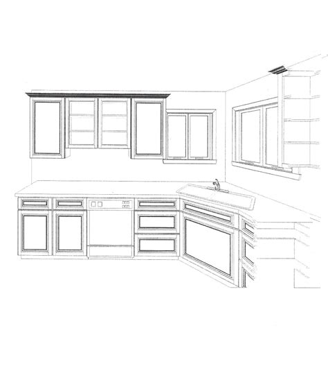 kitchen cabinet drawing elevation drawings cabinet detail drawing size interior 2485