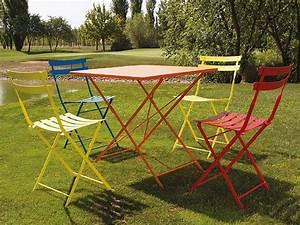 Klapptisch Mit Stühlen : roy t metallklapptisch f r garten in verschiedenen ~ Lateststills.com Haus und Dekorationen