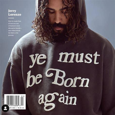 ye   born  hoodie wehustle menswear