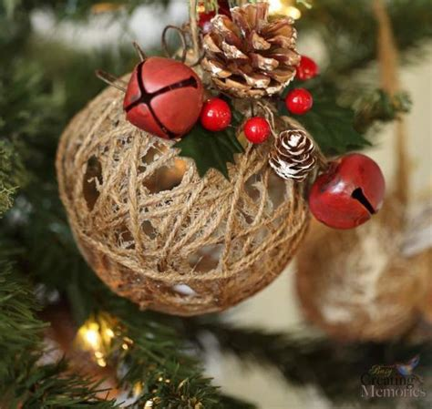 crafts for christmas decorations 16 homemade christmas ornaments diy christmas crafts