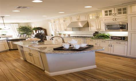 White Cabinets Gray Countertops Antique White Kitchen