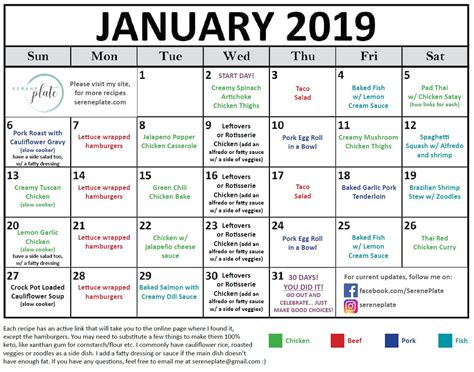 day keto meal plan  january   carb dinners