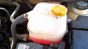 Where Is The Coolant Expansion Tank In A Vauxhall Astra 04