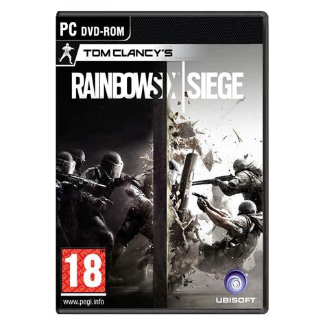des jeux siege rainbow six siege pc jeux pc ubisoft sur ldlc com