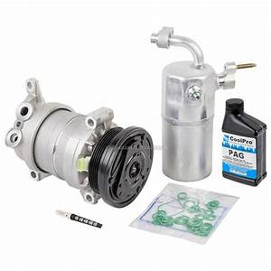 Chevrolet Silverado Ac Compressor And Components Kit Parts