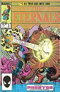 Amazon.com: The Eternals #3 Introducing Phastos The ...