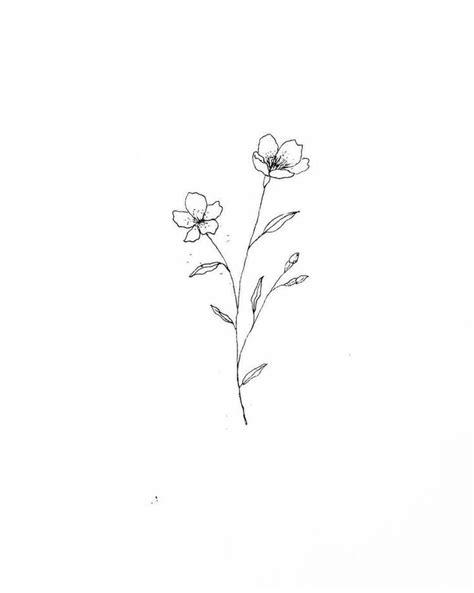 25 Beautiful Flower Drawing Information & Ideas | • ᴊ ᴏ ᴜ ʀ ɴ ᴀ ʟ • | Tatuajes de flores