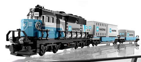 Repubblick Lego Set Database 10219 Maersk Train