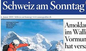 Schweiz Am Sonntag : der sonntag und die s dostschweiz am sonntag werden zur schweiz am sonntag wirtschaft ~ Orissabook.com Haus und Dekorationen