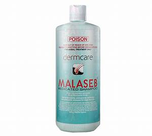 dermcare malaseb medicated shampoo 250ml dog dermatitis With dog shampoo for allergies