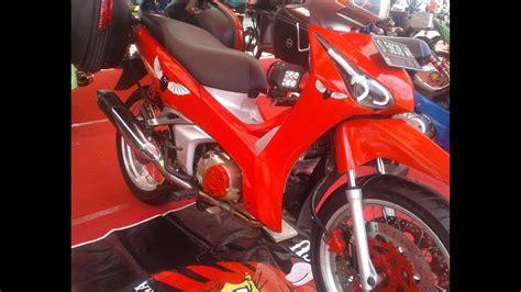 Modifikasi Supra X 125 Kontes by Honda Supra X 125 Modifikasi Touring Myvacationplan Org