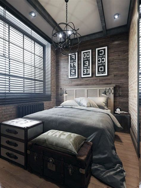 cool mens bedrooms small and elegant mens bedroom ideas also artistic pendant l design also wooden floor design