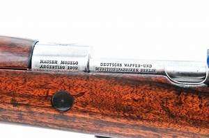 Argentine Mauser Model 1909 Bolt Action Rifle