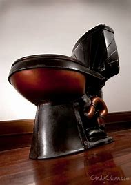 Steampunk Bathroom Toilet