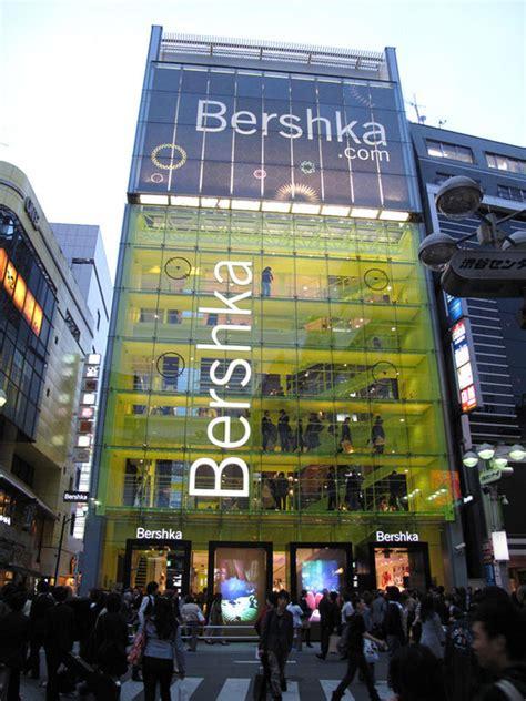 interactive floor  shop window visuals  bershka