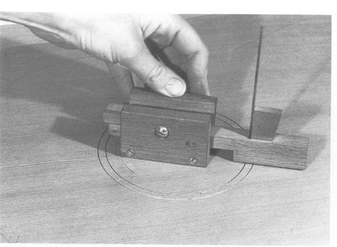 woodwork wood circle cutter  plans